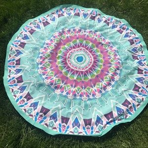 Accessories - SALE! New Medallion Scarf Circle Blanket Tapestry