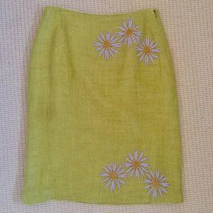 Tocca Dresses & Skirts - Tocca skirt linen skirt size 10