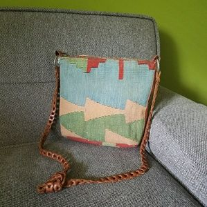 Vintage Kilm Leather Bag