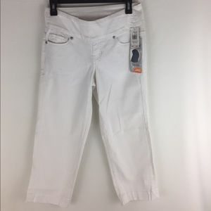 Jag Jeans Pants - Jag Jesns Felicia Crop White Pull on Jeans Size 2