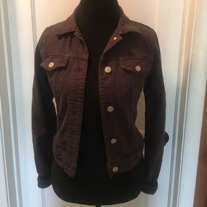 J Brand Brown Denim Jacket