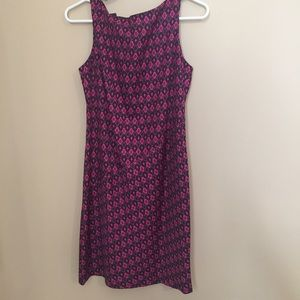 Muse Pink and Purple Dress NWT Size 4