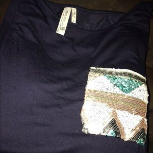 Mint Pear Beauty Tops - Beautiful Boutique Shirt