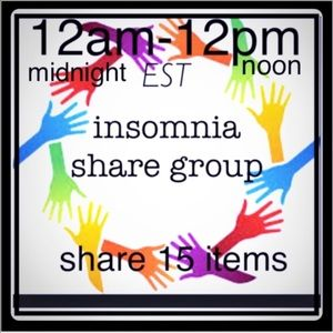 Monday insomnia share group