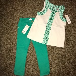 Gymboree Other - Darling retro inspired Gymboree two piece set