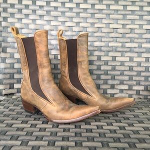 Old Gringo Shoes - Old gringo pull on tan leather boots