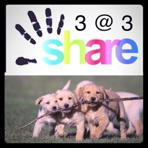Monday 3@3pm EST share group