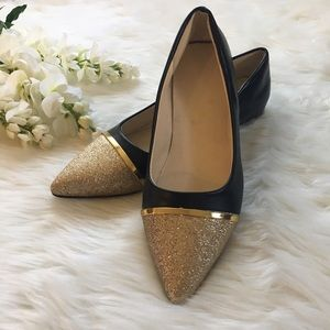 Boutique Shoes - Glitter Point Flats 💼
