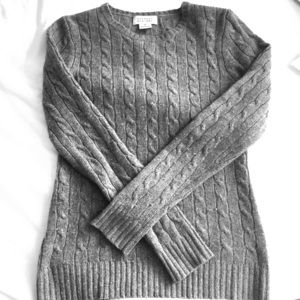 Barneys New York Sweaters - Cashmere charcoal grey sweater
