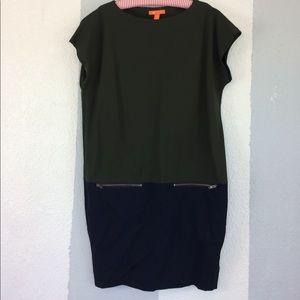 Joe Fresh color block dress
