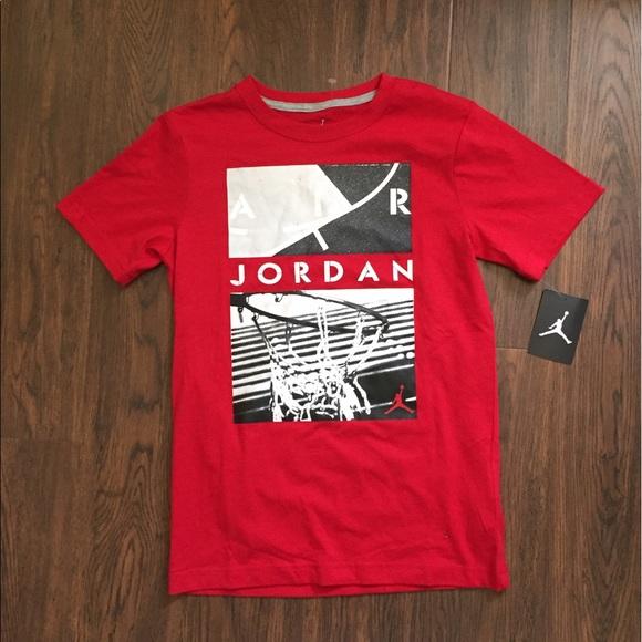 huge discount c4161 a111f Air Jordan Jumpman Boys T-Shirt Size Medium