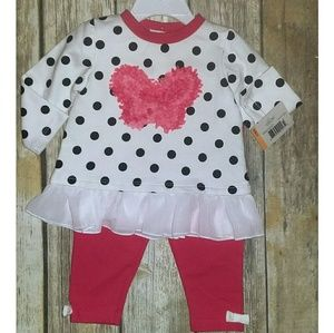 Little Me Other - 🌻SALE🌻Little Me 2 Piece Polka Dot Outfit