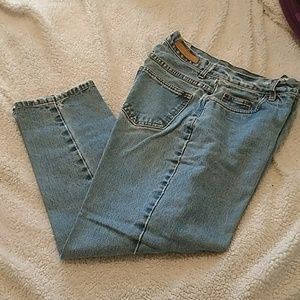 Bill Blass easy fit high waist mom jeans
