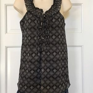 Tops - Black-and-white size small B-wear ladies top