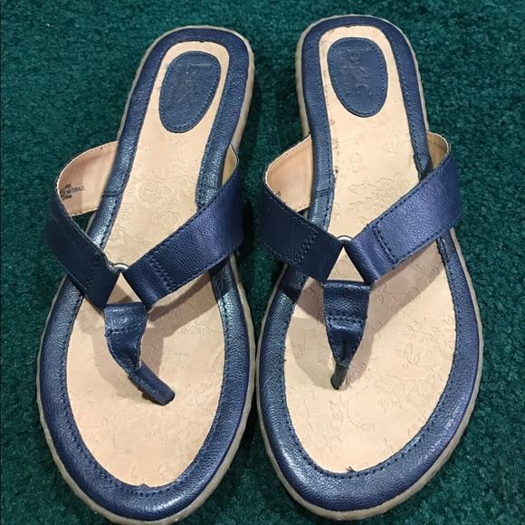 Boc Shoes | Navy Blue Flip Flops | Poshmark