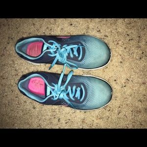 Skechers Shoes - Blue and pink! Skechers