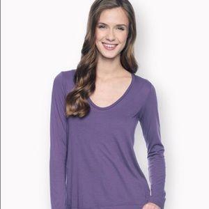 Splendid Tops - Dark purple Splendid  long sleeve