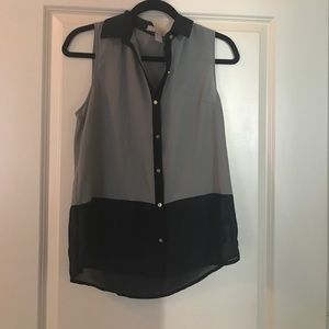 Button up tank