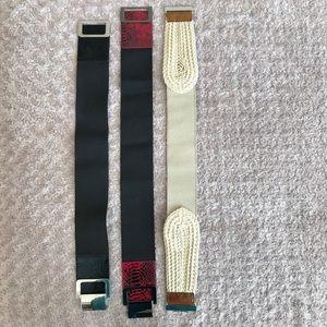 Express Accessories - EXPRESS Belts - Set of 3