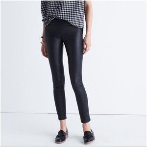 Madewell Pants - Madewell black Anywhere leather pant • size 29