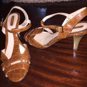 Sam & Libby Shoes - Sam and Libby Tortoise Skin Shoes - 7M