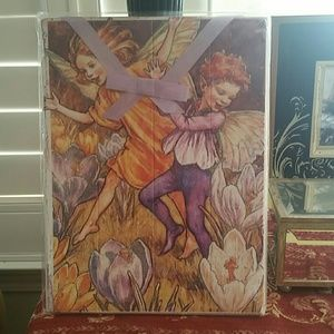 Other - Whimsical Fairy wall hanging! New in Bag.