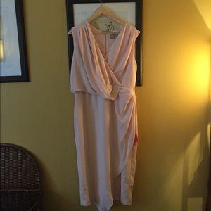 ASOS Curve Dresses & Skirts - ASOS bridesmaid dress in peach/pink