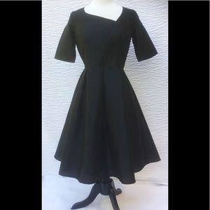 eshakti Dresses & Skirts - New Eshakti Black Fit & Flare Cocktail Dress L 14