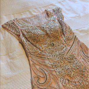 Sue Wong Dresses & Skirts - Sue Wong blush underlay cocktail dress