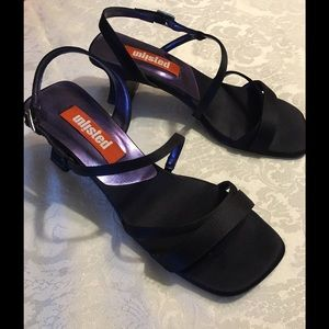 Unlisted Shoes - Unlisted Samantha Navy Blue Sandals