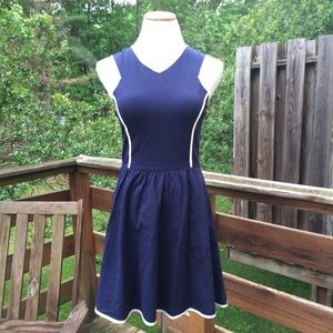 love ady Dresses & Skirts - Love Ady | Navy Blue Fit & Flare Dress