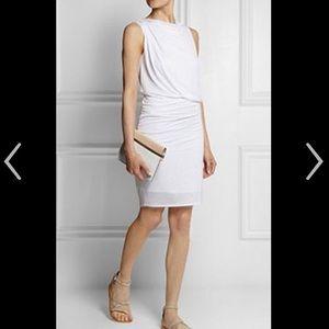 Helmut Lang Dresses & Skirts - NWOT Helmut Lang draped white jersey dress