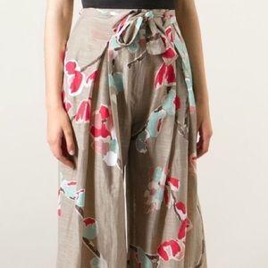 Erika Cavallini Wide Leg Pants Semi Couture