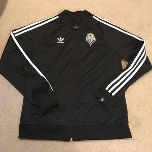 Seattle Sounders Adidas Track Jacket