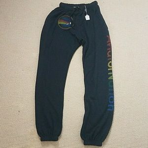 Aviator Nation Other - Aviator Nation mens sweatpants charcoal M NWT