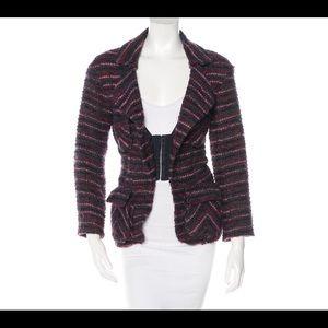 Nina Ricci Jackets & Blazers - Nina Ricci Striped Boucle' Blazer