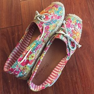 Sperry Top-Sider Shoes - ☀️WEEKEND SALE!!☀️Floral Sperry Espadrilles