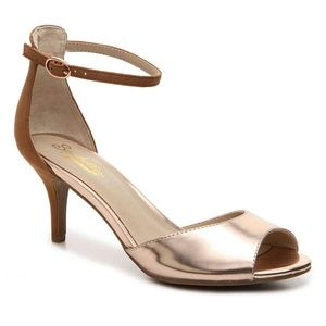Seychelles Shoes - NWT Seychelles Rose Gold Hazel Ankle Strap Sandals