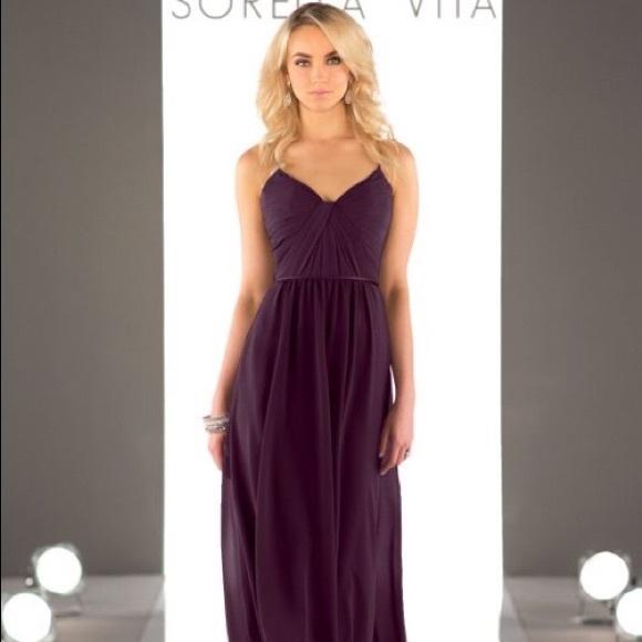 d701e3b6c0d Sorella Vita 8746 Aubergine Bridesmaid Dress