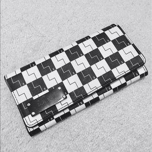 L.A.M.B. Handbags - L.A.M.B. Checkered Leather Wallet