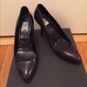 Barneys New York CO-OP Shoes - Barneys New York dark purple pumps
