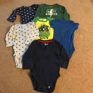 Carter's Other - 9 month onesie bundle