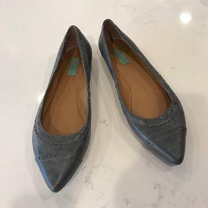 Miz Mooz Shoes - NWOT Grey pointy toe flats M2 by Miz Mooz