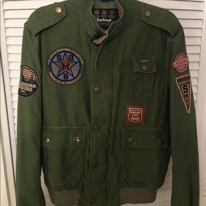 Barbour Other - Barbour Men's Patched Bomber Jacket - Size Medium