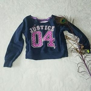 Justice Other - Cute Justice shirt for girls size 8 small sweater