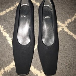Stuart Weitzman Shoes - EUC Stuart Weitzman black square toe block heels