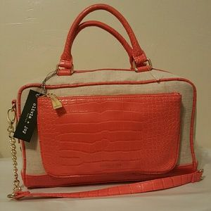 Olivia + Joy Handbags - ⚡ SALE⚡OLIVIA+JOY SUMMER Tangerine STACHEL