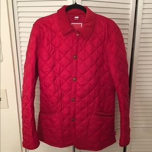 Barbour Other - Barbour Red Quilted Jacket