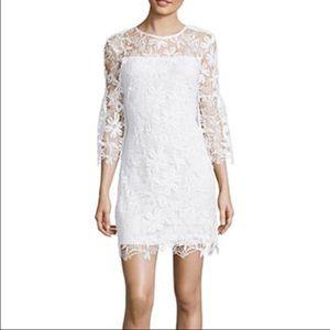 Bisou Bisou Dresses & Skirts - White Lace Bisou Bisou Dress