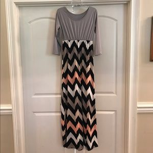Adorable Chevron Dress